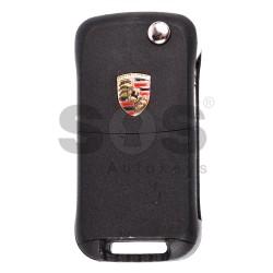 Сгъваем ключ за коли Porsche Cayenne с 2 бутона Честота - 433MHz