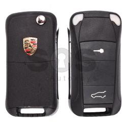 Сгъваем ключ за коли Porsche Cayenne с 3 бутона Честота 433MHz