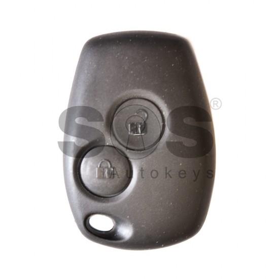 Оригинален ключ за коли Dacia и Renault 2012+ с 2 бутона 434 MHz