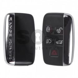 Оригинален смарт ключ за коли Land/Range Rover 4+1 бутона 315 MHz
