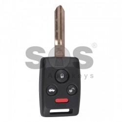 Ключ за коли Subaru с 3+1 бутона 434MHz