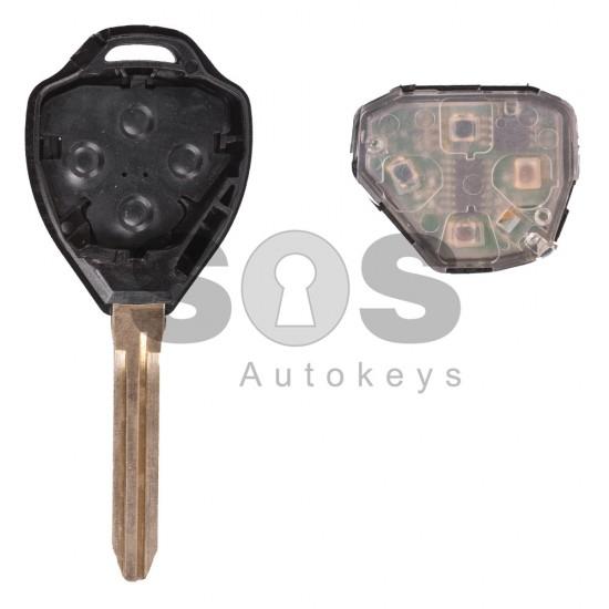 Ключ за коли Toyota с 4 бутона 434 MHz - само дистанционно