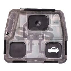 Ключ за коли Toyota Land Cruser 120 с 2/3 бутона 433 MHz - само дистанционно
