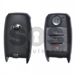 Оригинален смарт ключ за Kia Niro 3+1 бутона 433MHz