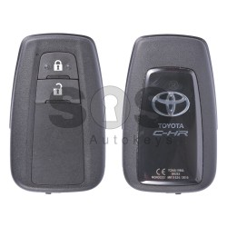 Оригинален смарт ключ за коли Toyota C-HR с 2 бутона 434MHz