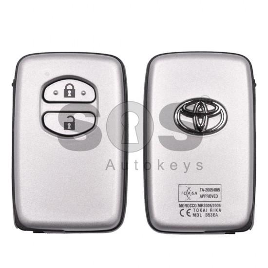 Оригинален смарт ключ за Toyota Land Cruser 200 2008-2010 с 2 бутона 434MHz