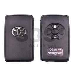 Оригинален смарт ключ за Toyota Rav 4 с 2 бутона 434MHz