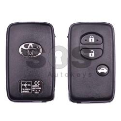 Оригинален смарт ключ за Toyota Land Cruiser 150 с 3 бутона 434MHz