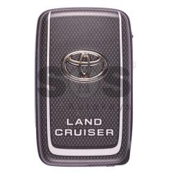 Оригинален смарт ключ за Toyota Land Cruiser с 3 бутона 433MHz