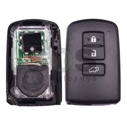 Оригинален смарт ключ за Toyota Rav 4 2012-2016 с 3 бутона 434 MHz