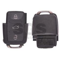 Оригинален сгъваем ключ за VW Bora с 3 бутона 434 MHz - само дистанционно
