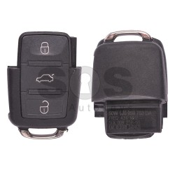 Сгъваем ключ за VW Bora с 3 бутона 434 MHz - само дистанционно