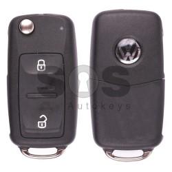 Сгъваем ключ за VW UDS с 2 бутона 434 MHz
