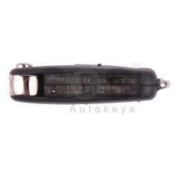 Оригинален сгъваем ключ за VW UDS с 2 бутона 434 MHz
