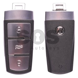 Оригинален смарт ключ за Volkswagen Passat с 3 бутона 434 MHz