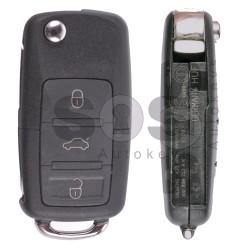 Сгъваем ключ за Volkswagen Touareg/ Phaeton с 3 бутона Честота 433 MHz