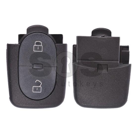 Сгъваем ключ за коли VW Golf с 2 бутона Честота - 434 MHz - само дистанционно