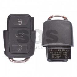 Сгъваем ключ за коли VW Caddy/EOS с 3 бутона 434 MHz - само дистанционно
