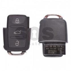 Сгъваем ключ за коли VW Bora/Golf IV с 2 бутона 434 MHz - само дистанционно