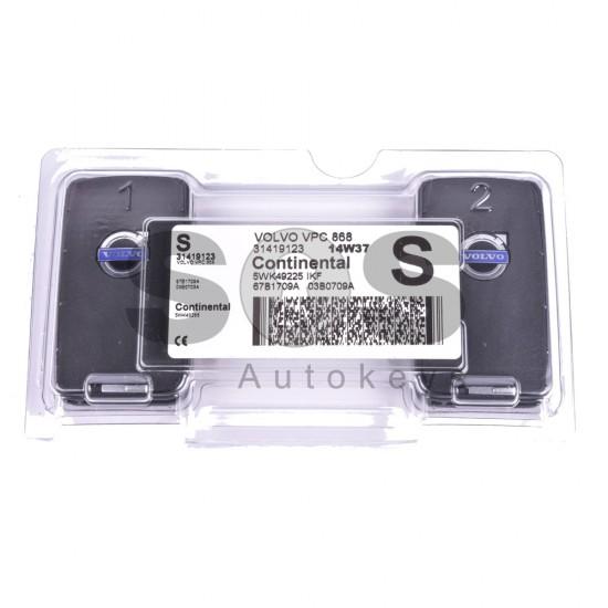 Смарт ключ за коли Volvo S с 6 бутона 868 MHz