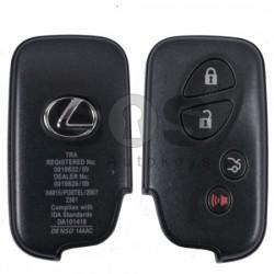 Смарт ключ за коли Lexus с 3 бутона 433MHz