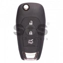 Оригинален сгъваем ключ за коли Chevrolet с 3 бутона - 315 MHz