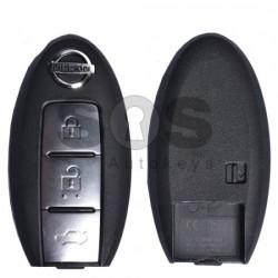 Оригинален смарт ключ за коли Nissan с 3 бутона 433MHz