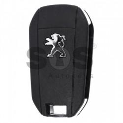 Оригинален сгъваем ключ за коли Peugeot с 3 бутона 434 MHz