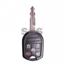 Оригинален ключ за коли Ford Mustang с 4+1 бутона - 433 MHz