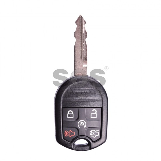 ключ за коли Ford Mustang с 4+1 бутона - 433 MHz