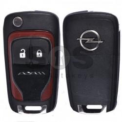 Оригинален флип ключ за Opel Adam с 2 бутона 433MHz