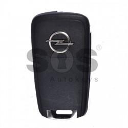 Оригинален сгъваем ключ за Opel Adam с 2 бутона 433MHz