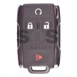 Оригинален смарт ключ за коли Chevrolet с 3+1 бутона - 433 MHz