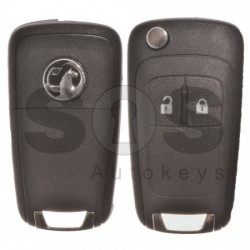 Сгъваем ключ за Vauxhall Corsa D/E с 2 бутона 433MHz
