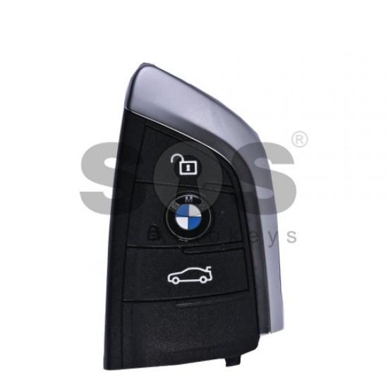 Оригинален смарт ключ за коли BMW F-Series с 3 бутона 434MHz Keyless Go
