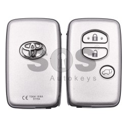 Оригинален смарт ключ за Toyota Land Cruser 200 2010-2012 с 3 бутона 433MHz