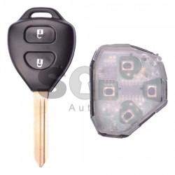 Ключ за коли Toyota с 2 бутона 433MHz - само дистанционно