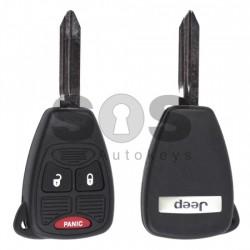 Ключ за коли Jeep с 2+1 бутона - 433 Mhz