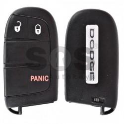 Смарт ключ за Dodge с 2+1 бутона 433MHz Keyless Go