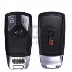 Оригинален смарт ключ за коли Audi RS с 3 бутона -  433 MHz