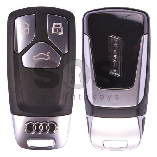Оригинален смарт ключ за коли Audi E-Tron с 3 бутона - 433 MHz