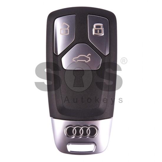 Смарт ключ за коли Audi E-Tron с 3 бутона - 433 MHz