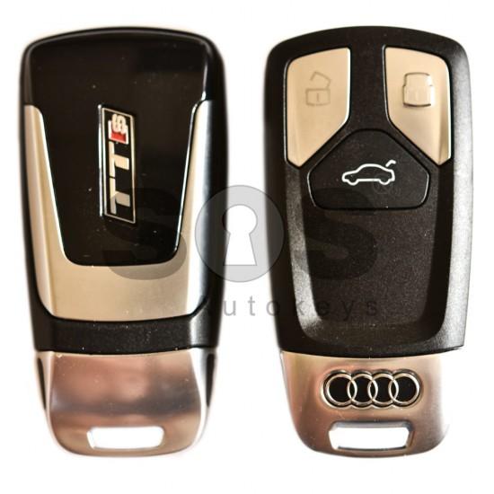 Смарт ключ за коли Audi TT / A3 с 3 бутона - 434 MHz Keyless Go
