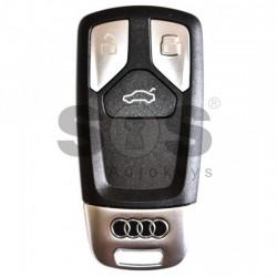 Оригинален смарт ключ за коли Audi TT / A3 с 3 бутона - 434 MHz Keyless Go