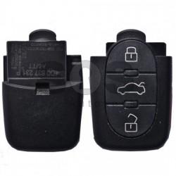 Дистанционно за коли Audi A6/TT с 3+1 бутона 315MHz
