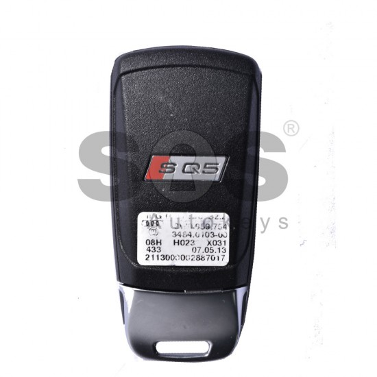 Смарт ключ за коли Audi SQ5 с 3+1 бутона - 433 MHz
