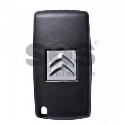 Оригинален сгъваем ключ за коли Citroen C5 с 2 бутона 433 MHz