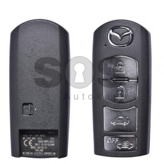 Смарт ключ за коли Mazda с 4 бутона 434MHz