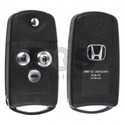 Оригинален сгъваем ключ за коли Honda с 3 бутона - 433 MHz
