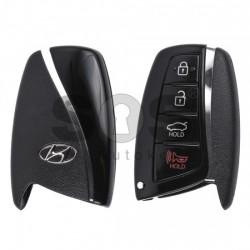 Смарт ключ за коли Hyundai с 3+1 бутона - 433 MHz